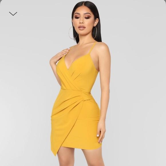 4b5a7d5034 Fashion Nova I Want You Back Surplice Dress